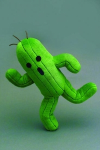 Final Fantasy XIV Plush Cactuar Pre-Order ships April