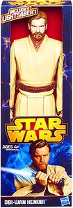 Star Wars 2013 Hasbro 12 Inch Action Figure Obi Wan Kenobi Pre-Order ships August