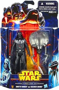 Star Wars Mission Series Action Figure 2-Pack Star Destroyer [Darth Vader & Seeker Droid] New!