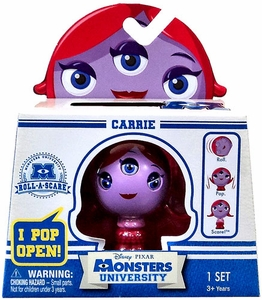 Disney / Pixar Monsters University Roll-a-Scare Figure Carrie