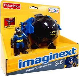 Imaginext Exclusive DC Super Friends Batman Exploration Pod