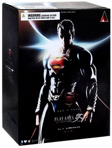 Man of Steel Square Enix Play Arts Kai Action Figure Superman