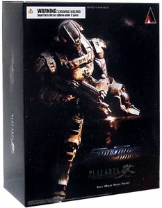 Starship Troopers Invasion Square Enix Play Arts Kai Action Figure Major Henry