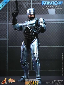 Robocop Hot Toys 1/6 Scale Collectible Diecast Figure Robocop Pre-Order ships July