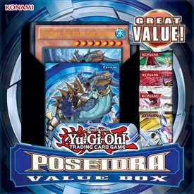 YuGiOh Poseidra Value Box [1 Deck & 4 Packs]