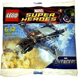 LEGO Marvel Super Heroes Exclusive Set #30162 Quinjet [Bagged]