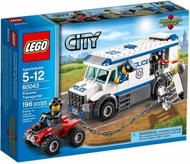 LEGO City Set #60043 Prisoner Transporter New!