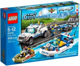 LEGO City Set #60045 Police Patrol