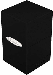 Ultra Pro Card Supplies Satin Tower Black Deck Box