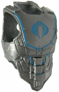 GI Joe 3 3/4 Inch LOOSE Action Figure Accessory Silver & Blue Cobra Armor