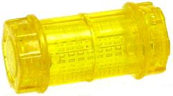 GI Joe 3 3/4 Inch LOOSE Action Figure Accessory Trans Orange Canister