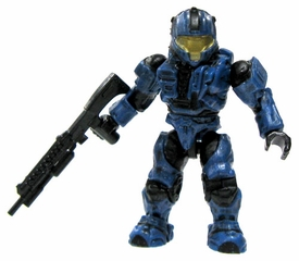 Halo Wars Mega Bloks LOOSE Mini Figure UNSC Cobalt CQB Spartan with Shotgun