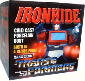 Transformers Hard Hero Cold Cast Porcelain Bust Ironhide