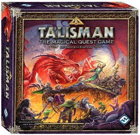 Talisman The Magical Quest Board Game 4th Edition