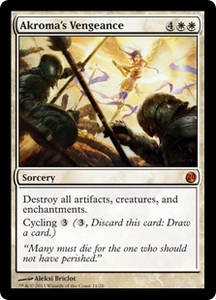 Magic: The Gathering From the Vault: Twenty Single Card White Mythic Rare #11 Akroma's Vengeance