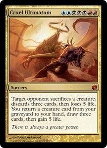 Magic: The Gathering From the Vault: Twenty Single Card Gold Mythic Rare #17 Cruel Ultimatum