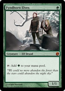 Magic: The Gathering From the Vault: Twenty Single Card Green Mythic Rare #4 Fyndhorn Elves