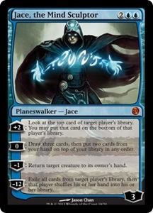 Magic: The Gathering From the Vault: Twenty Single Card Blue Mythic Rare #18 Jace, the Mind Sculptor