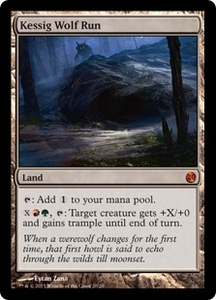 Magic: The Gathering From the Vault: Twenty Single Card Land Mythic Rare #20 Kessig Wolf Run
