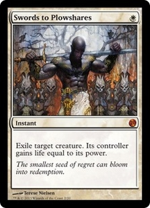 Magic: The Gathering From the Vault: Twenty Single Card White Mythic Rare #2 Swords to Plowshares