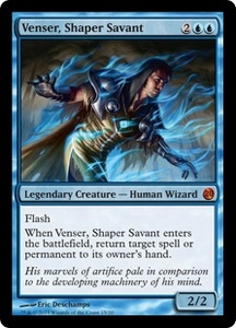 Magic: The Gathering From the Vault: Twenty Single Card Blue Mythic Rare #15 Venser, Shaper Savant