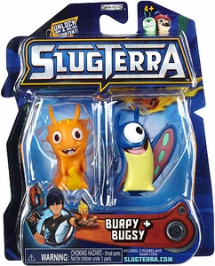 Slugterra Mini Figure 2-Pack Burpy & Bugsy [Includes Code for Exclusive Game Items]