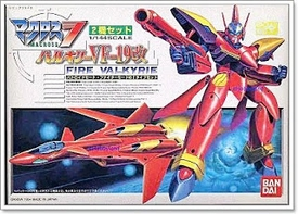 Robotech Macross Bandai 1/144 Scale Model Kit VF-19 Fire Valkyrie