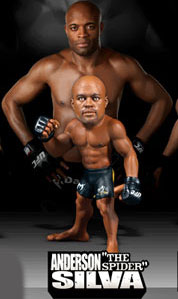 Round 5 UFC Ultimate Collector Series 3 Action Figure LOOSE Anderson