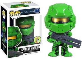 Funko POP! Halo 4 SDCC 2013 San Diego Comic-Con Exclusive Vinyl Figure Spartan Warrior Green