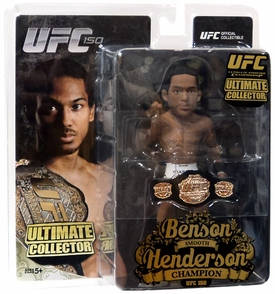 Round 5 UFC Ultimate Collector Series 13 CHAMPIONSHIP EDITION Action Figure Benson Henderson