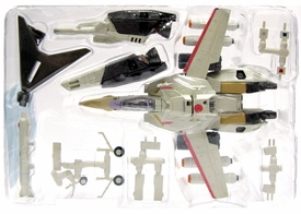 Macross 1/144 Scale Chara-Works Vol. 2 Tan & Red VF-1S Strike Valkyrie
