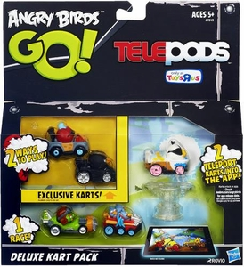 Angry Birds GO! Telepods Exclusive Deluxe Kart Pack [5 Karts & Telepods Base]