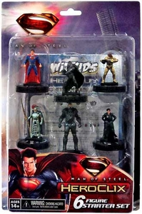 Man of Steel HeroClix Starter Set [6 Figures]