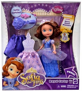 Disney Sofia the First Royal Curtsy Doll