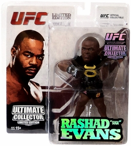 Round 5 UFC Ultimate Collector Series 13 LIMITED EDITION Action Figure Rashad Evans