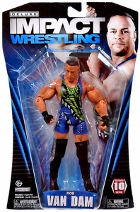 TNA Wrestling Deluxe Impact Series 10 Action Figure Rob Van Dam