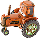 Disney Pixar Cars LOOSE 1:48 Die Cast Car Tractor