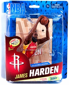 McFarlane Toys NBA Sports Picks Series 23 Action Figure James Harden (Houston Rockets) Red Uniform