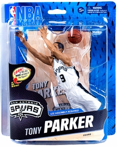 McFarlane Toys NBA Sports Picks Series 23 Action Figure Tony Parker (San Antonio Spurs)