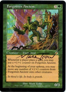 Magic the Gathering Other Promo Card Mark Tedin Artist Proof Forgotten Ancient w/ Sketch Chaos Orb