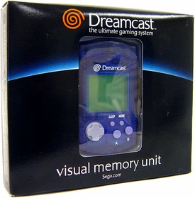 SEGA Dreamcast Blue Visual Memory Unit [VMU]