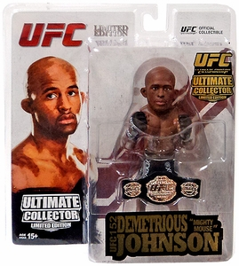 Round 5 UFC Ultimate Collector Series 13.5 CHAMPIONSHIP & LIMITED EDITION Action Figure Demetrious Johnson Only 1,000 Made!