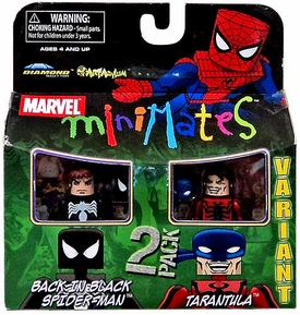 Marvel MiniMates Series 27 Mini Figure 2-Pack Back in Black Spider-Man & Tarantula