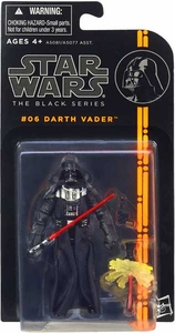 Star Wars Black 3.75 Inch Series 1 Action Figure Darth Vader [Episode V]
