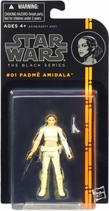 Star Wars Black 3.75 Inch Series 1 Action Figure Padme Amidala [Episode II]