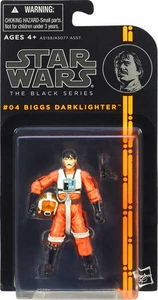 Star Wars Black 3.75 Inch Series 1 Action Figure Biggs Darklighter [Episod