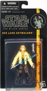 Star Wars Black 3.75 Inch 2013 Series 1 Action Figure Luke Skywalker [Episode IV]