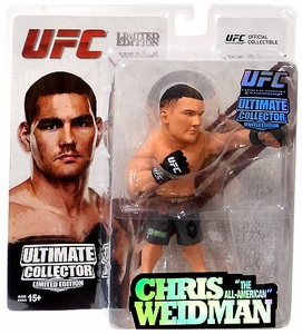 Round 5 UFC Ultimate Collector Series 13.5 LIMITED EDITION Action Figure Chris Weidman Only 1,000 Made!