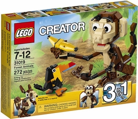 LEGO Creator Set #31019 Forest Animals