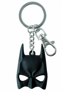 DC Pewter Keyring Batman Mask  Pre-Order ships August